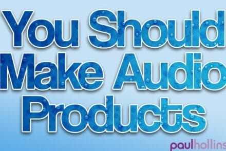 You Should Make Audio Products